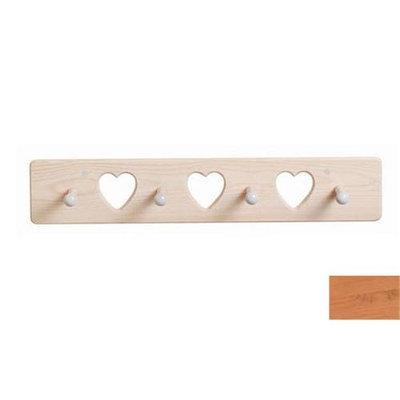 Little Colorado 1214NAHT Heart Peg Rack in Natural