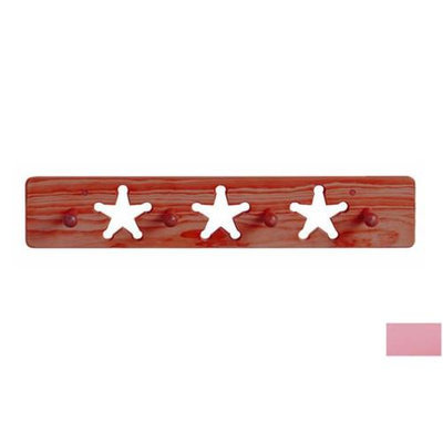Little Colorado 1214SPST Star Peg Rack in Soft Pink