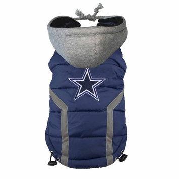 Ec Team Apparel Dallas Cowboys Dog Hoodie Vest