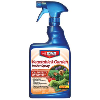Bayer Vegetable & Garden Insect Spray, 24 oz