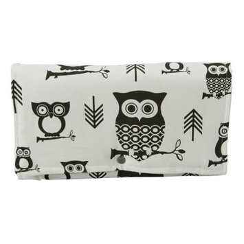 Brownie Gifts Black and White Owl Clutch