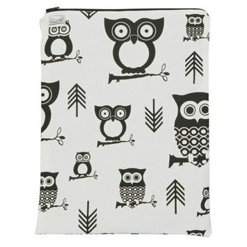 Brownie Gifts Black and White Owl Wet Bag
