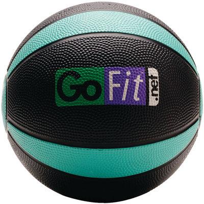 Gofit Gf Mb4 Medicine Ball, Black, Green