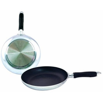 DDI 993198 8 in. Heavy Duty Fry Pan - Mirror Finish
