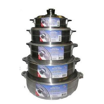 DDI 354445 num. 3 1.75 Quart Polished Aluminum Caldero