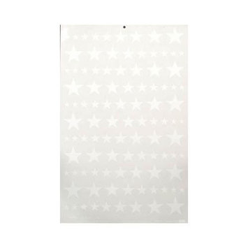 S9PW Pressure Decal Stars White MAJQ2810 MAJOR DECALS