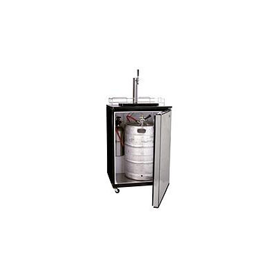 Haier BrewMaster Single Tap Beer Dispenser in Stainless Steel HBF05EBSS
