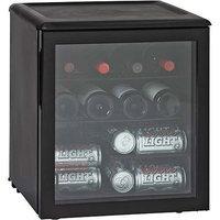 Haier America HBCN02EBB 42 Can Beverage Center- Black
