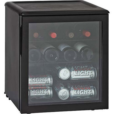 Haier America HBCN02EBB 42 Can Beverage Center- Black