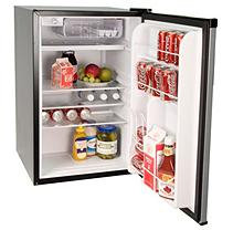 Haier 4.5 cu. ft. Compact Refrigerator/Freezer Stainless