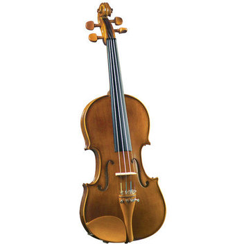 Saga Cremona Student 3/4-Size Violin Outfit with Boxwood