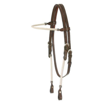 Jt Intl Distributers Inc King Series Rawhide Braided Browband Headstall