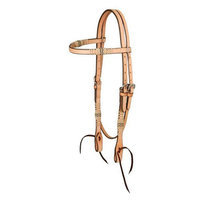 Jt Intl Distributers Inc Royal King Browband Headstall with Braided Rawhide