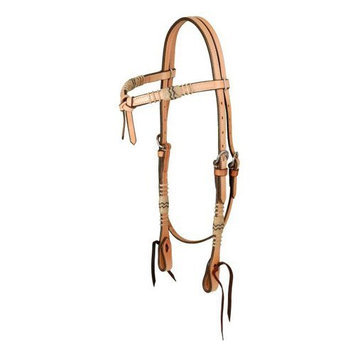 Jt Intl Distributers Inc Royal King Futurity Headstall with Braided Rawhide