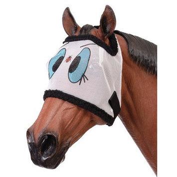 Tough-1 Ladybug Mesh Horse Fly Mask