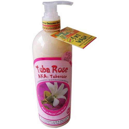 Bubble Shack Hawaii 689076050982 Tuba Rose 5 in 1 Wash - Pack of 2