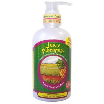 Bubble Shack Hawaii 689076052283 Juicy Pineapple Lotions - Pack of 2
