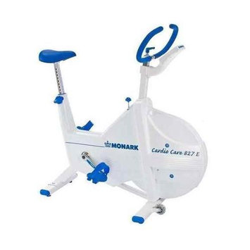 Hci Monark Electronic Fitness Cycle Bike w Adjustable Seat & Handlebar