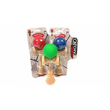 YoYoFactory Catchy Street Kendama with Sticky Paint (Colors Vary) YYFH4103