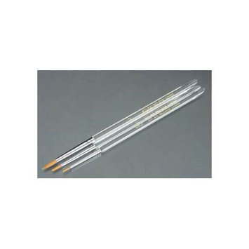 Atlas Brush Co., Inc. ATLAS BRUSH CO, INC. 016-3PS Detail Round Taklon 3-pcs