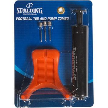 Huffy Spalding Football Tee and Pump Set