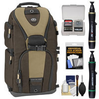 Tamrac 5786 Evolution 6 Photo Digital SLR Camera Sling Backpack (Brown/Tan) + Accessory Kit
