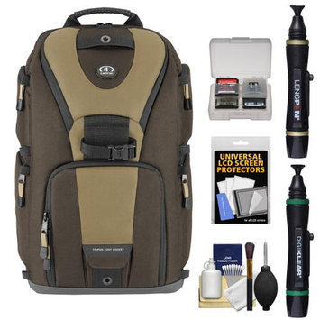 Tamrac 5788 Evolution 8 Photo Digital SLR Camera Sling Backpack (Brown/Tan) + Accessory Kit