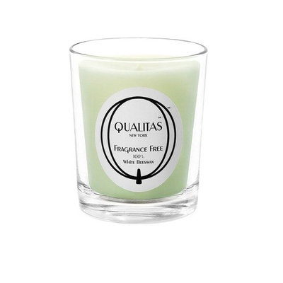 Qualitas Candles Qualitas Fragrance Free Candle 100% White Beeswax