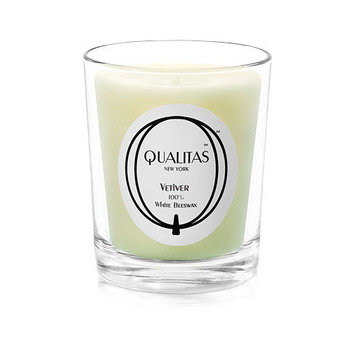 Qualitas Candles Beeswax Vetiver Scented Candle