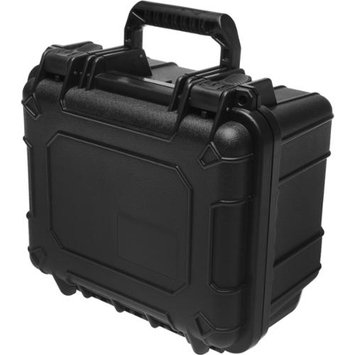 Precision Design PD-WPCS Waterproof Hard Case with Custom Foam - Small (Black) for Digital SLR Cameras Camcorders etc.