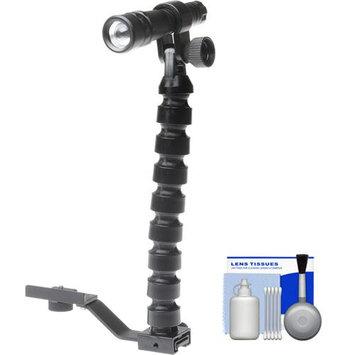 Intova Tactical Waterproof High Power LED Torch + Bracket + Kit