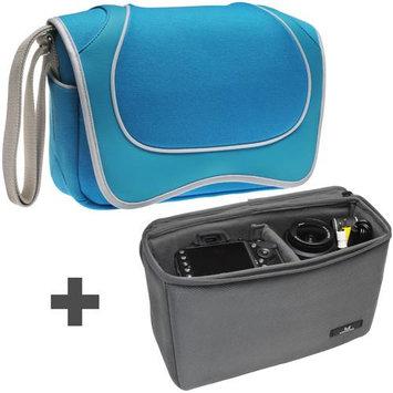 Aerystar Venice Digital SLR Camera Messenger Bag with Insert Bag
