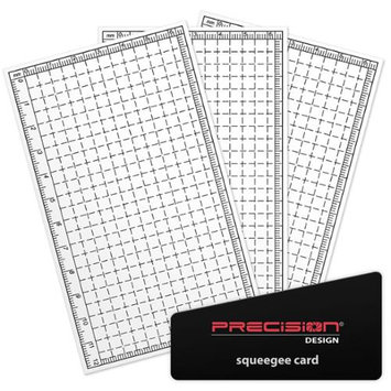 Precision Design Universal LCD Screen Protectors for 1.5 - 5.0 LCD Screens
