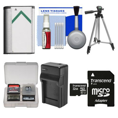 Transcend Essentials Bundle for Sony Handycam HDR-CX240 & HDR-PJ275 Camcorder with 32GB Card + NP-BX1 Battery & Charger + Tripod + Kit