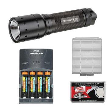 LED Lenser MT7 LED Flashlight with Smart Light Technology & Intelligent Clip (220 Lumens)