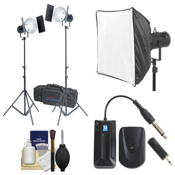 RPS Studio RS-5520 CooLED 50W High Power Light Kit with Softbox + Remote + Kit