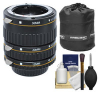 Xit Group Xit Pro Series AF Macro Extension Tube Set (for Nikon Cameras) with Lens Pouch + Accessory Kit