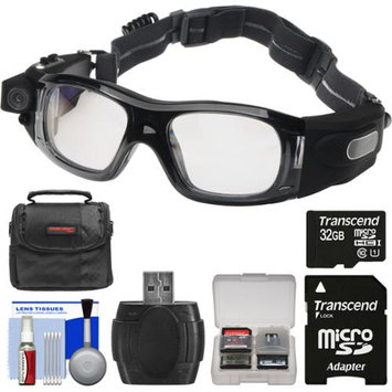 Coleman VisionHD G5HD-SPORT 1080p HD Waterproof POV Sports Safety Goggles with 32GB Card + Case + Reader + Kit