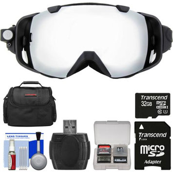 Coleman VisionHD G9HD-SKI 1080p HD Waterproof POV Snow and Ski Goggles with 32GB Card + Case + Reader + Kit