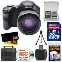 Kodak PixPro AZ651 Astro Zoom Wi-Fi Camera + 32GB Card + Case + Accessory Kit