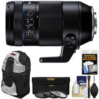 Samsung 50-150mm f/2.8 NX S ED OIS Zoom Lens with 3 UV/CPL/ND8 Filters + Sling Backpack + Kit