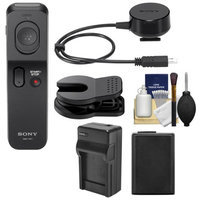 Sony RMT-VP1K Wireless Remote Shutter Controller with NP-FW50 Battery + Charger + Cleaning Kit