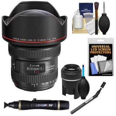 Canon EF 11-24mm f/4.0L USM Zoom Lens with Lenspen SensorKlear Cleaning Kit