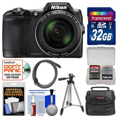 Nikon Coolpix L840 Wi-Fi Camera + 32GB Card + Case + Tripod + Accessory Kit