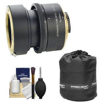 Savage Macro Art Variable Auto-Extension Tube (for Nikon Cameras) with Lens Pouch + Cleaning Kit
