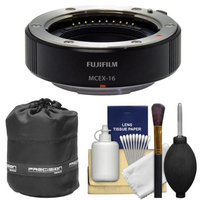 Fujifilm MCEX-16 Macro Extension Tube with Lens Pouch + Cleaning Kit