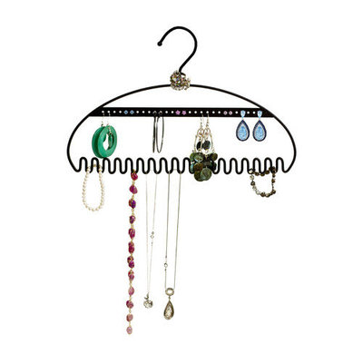 Just Solutions Hang It Jewelry Organizer Color: Silver