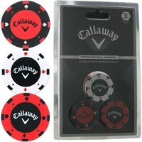 Callaway Poker Chip Golf Ball Marker Set