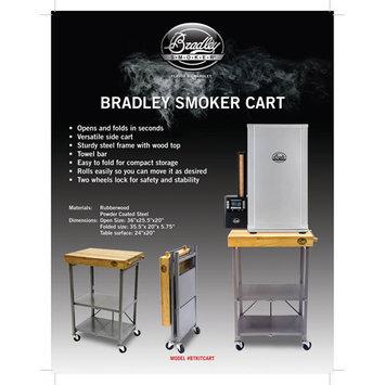 Bradley Smoker Kitchen Cart