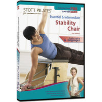 Stott Pilates Essential and Intermediate Stability Chair-2nd Edition DVD